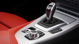 Image of BMW gear selector